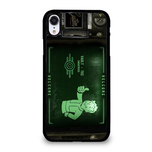 coque custodia cover fundas hoesjes iphone 11 pro max 5 6 7 8 plus x xs xr se2020 C18501 FALLOUT PIP BOY 3000 3 iPhone XR Case