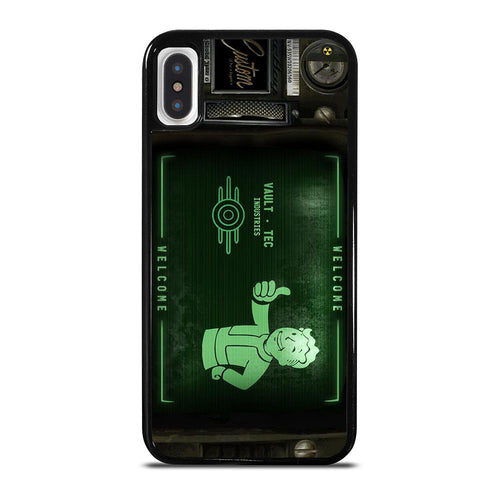 coque custodia cover fundas hoesjes iphone 11 pro max 5 6 7 8 plus x xs xr se2020 C18500 FALLOUT PIP BOY 3000 3 iPhone X / XS Case