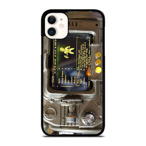 coque custodia cover fundas hoesjes iphone 11 pro max 5 6 7 8 plus x xs xr se2020 C18503 FALLOUT PIP BOY 3000 4 iPhone 11 Case