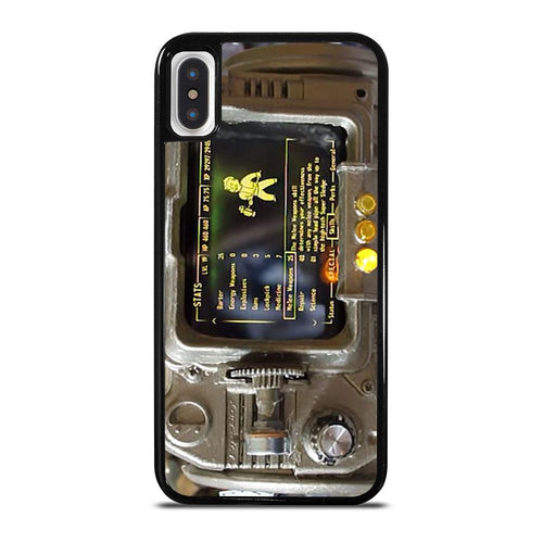 coque custodia cover fundas hoesjes iphone 11 pro max 5 6 7 8 plus x xs xr se2020 C18510 FALLOUT PIP BOY 3000 4 iPhone X / XS Case