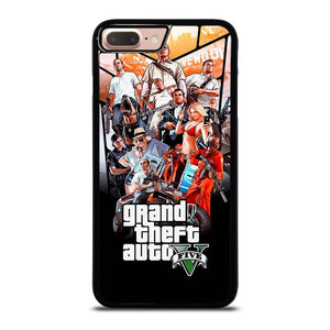 coque custodia cover fundas hoesjes iphone 11 pro max 5 6 7 8 plus x xs xr se2020 C19999 GRAND THEFT AUTO V GTA 5 iPhone 7 / 8 Plus Case
