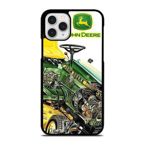 coque custodia cover fundas hoesjes iphone 11 pro max 5 6 7 8 plus x xs xr se2020 C24704 LOGO JOHN DEERE 1 iPhone 11 Pro Case
