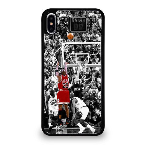 coque custodia cover fundas hoesjes iphone 11 pro max 5 6 7 8 plus x xs xr se2020 C26193 MICHAEL JORDAN-1 iPhone XS Max Case