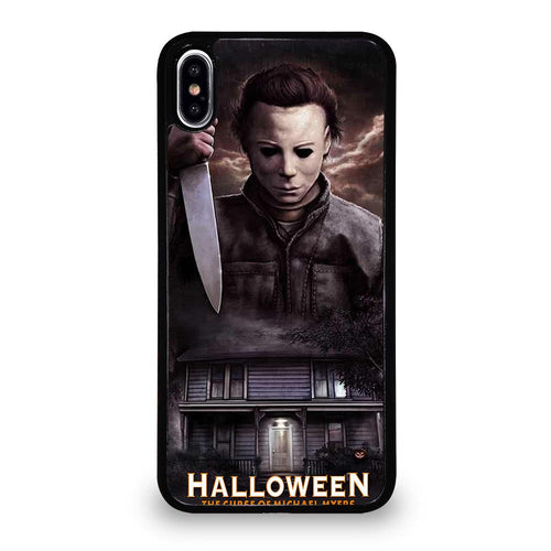coque custodia cover fundas hoesjes iphone 11 pro max 5 6 7 8 plus x xs xr se2020 C26245 MICHAEL MYERS HALLOWEEN iPhone XS Max Case