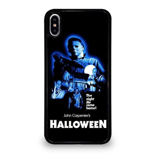 coque custodia cover fundas hoesjes iphone 11 pro max 5 6 7 8 plus x xs xr se2020 C26203 MICHAEL MYERS HALLOWEEN #2 iPhone XS Max Case