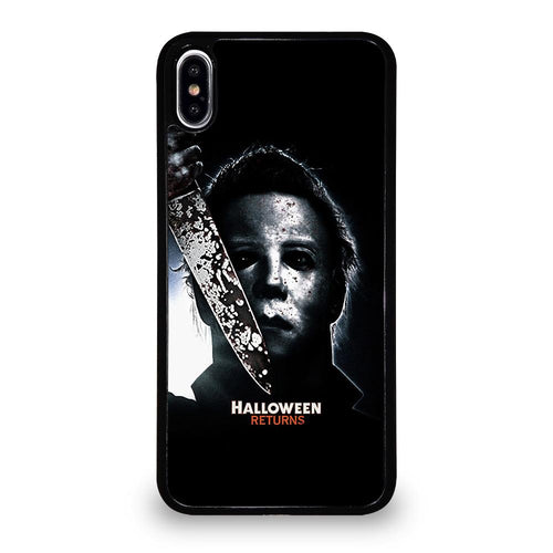 coque custodia cover fundas hoesjes iphone 11 pro max 5 6 7 8 plus x xs xr se2020 C26213 MICHAEL MYERS HALLOWEEN #4 iPhone XS Max Case