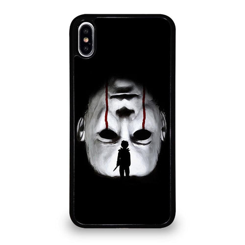 coque custodia cover fundas hoesjes iphone 11 pro max 5 6 7 8 plus x xs xr se2020 C26223 MICHAEL MYERS HALLOWEEN #5 iPhone XS Max Case