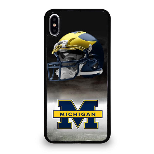 coque custodia cover fundas hoesjes iphone 11 pro max 5 6 7 8 plus x xs xr se2020 C26267 MICHIGAN WOLVERINES #4 iPhone XS Max Case