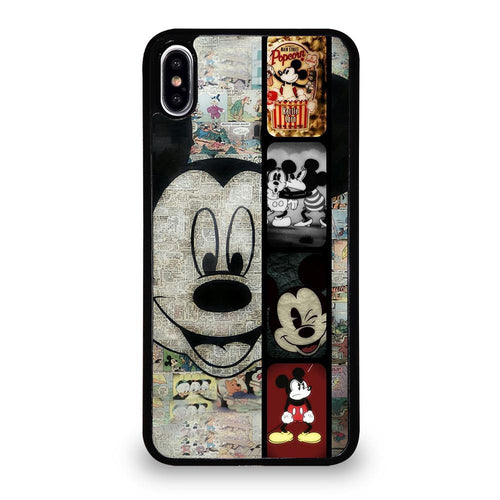 coque custodia cover fundas hoesjes iphone 11 pro max 5 6 7 8 plus x xs xr se2020 C26372 MICKEY MOUSE PAPER iPhone XS Max Case