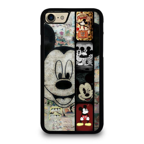 coque custodia cover fundas hoesjes iphone 11 pro max 5 6 7 8 plus x xs xr se2020 C26368 MICKEY MOUSE PAPER iPhone 7 / 8 Case