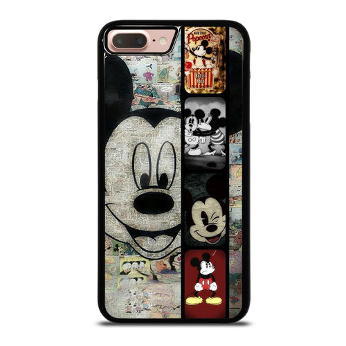 coque custodia cover fundas hoesjes iphone 11 pro max 5 6 7 8 plus x xs xr se2020 C26369 MICKEY MOUSE PAPER iPhone 7 / 8 Plus Case