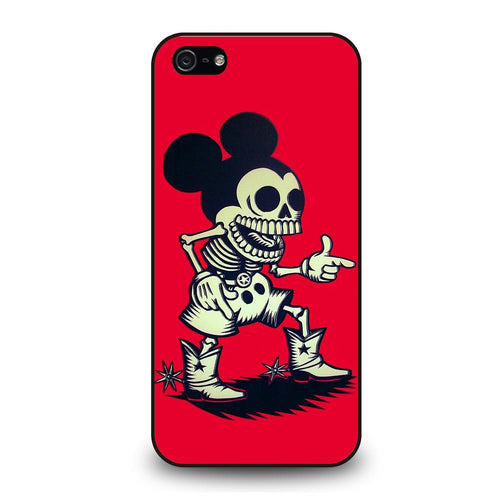 coque custodia cover fundas hoesjes iphone 11 pro max 5 6 7 8 plus x xs xr se2020 C26376 MICKEY MOUSE ZOMBIE iPhone 5/5S/SE Case