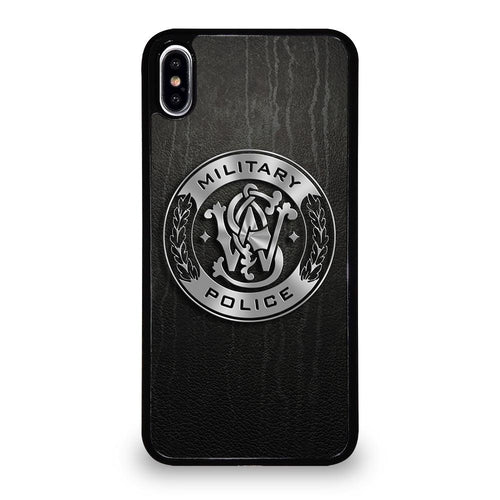 coque custodia cover fundas hoesjes iphone 11 pro max 5 6 7 8 plus x xs xr se2020 C26404 MILITARY POLICE LOGO iPhone XS Max Case