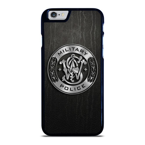 coque custodia cover fundas hoesjes iphone 11 pro max 5 6 7 8 plus x xs xr se2020 C26398 MILITARY POLICE LOGO iPhone 6 / 6S Case