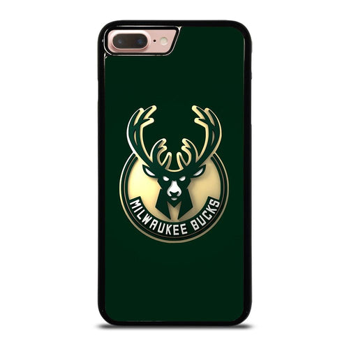 coque custodia cover fundas hoesjes iphone 11 pro max 5 6 7 8 plus x xs xr se2020 C26445 MILWAUKEE BUCKS iPhone 7 / 8 Plus Case