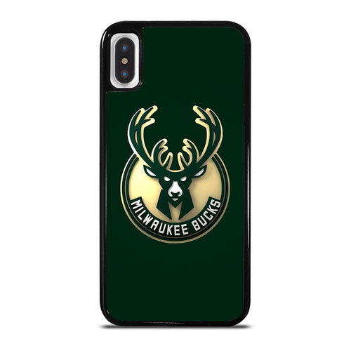 coque custodia cover fundas hoesjes iphone 11 pro max 5 6 7 8 plus x xs xr se2020 C26446 MILWAUKEE BUCKS iPhone X / XS Case