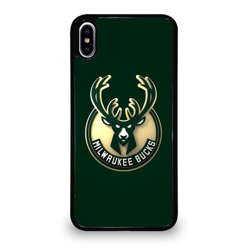 coque custodia cover fundas hoesjes iphone 11 pro max 5 6 7 8 plus x xs xr se2020 C26448 MILWAUKEE BUCKS iPhone XS Max Case