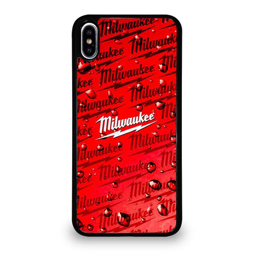 coque custodia cover fundas hoesjes iphone 11 pro max 5 6 7 8 plus x xs xr se2020 C26451 MILWAUKEE TOOL ICON iPhone XS Max Case