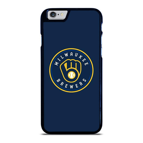 coque custodia cover fundas hoesjes iphone 11 pro max 5 6 7 8 plus x xs xr se2020 C26434 MILWAUKEE BREWERS iPhone 6 / 6S Case