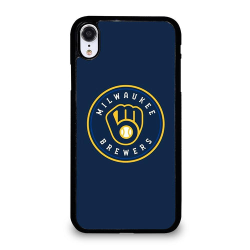 coque custodia cover fundas hoesjes iphone 11 pro max 5 6 7 8 plus x xs xr se2020 C26439 MILWAUKEE BREWERS iPhone XR Case