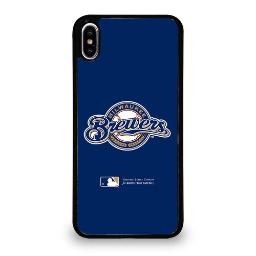 coque custodia cover fundas hoesjes iphone 11 pro max 5 6 7 8 plus x xs xr se2020 C26414 MILWAUKEE BREWERS 1 iPhone XS Max Case