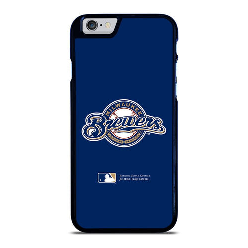 coque custodia cover fundas hoesjes iphone 11 pro max 5 6 7 8 plus x xs xr se2020 C26408 MILWAUKEE BREWERS 1 iPhone 6 / 6S Case