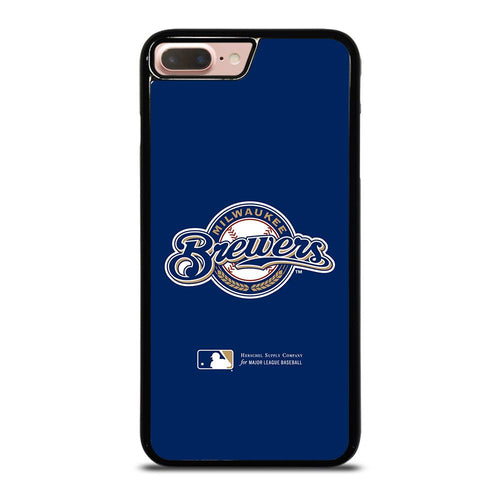 coque custodia cover fundas hoesjes iphone 11 pro max 5 6 7 8 plus x xs xr se2020 C26411 MILWAUKEE BREWERS 1 iPhone 7 / 8 Plus Case