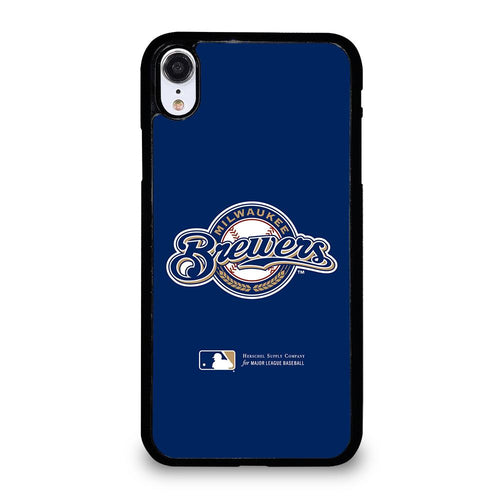coque custodia cover fundas hoesjes iphone 11 pro max 5 6 7 8 plus x xs xr se2020 C26413 MILWAUKEE BREWERS 1 iPhone XR Case