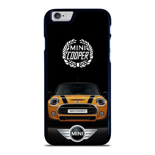 coque custodia cover fundas hoesjes iphone 11 pro max 5 6 7 8 plus x xs xr se2020 C26518 MINI COOPER CAR iPhone 6 / 6S Case