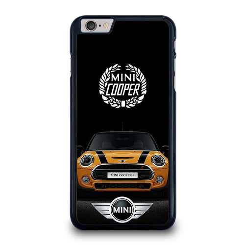 coque custodia cover fundas hoesjes iphone 11 pro max 5 6 7 8 plus x xs xr se2020 C26519 MINI COOPER CAR iPhone 6 / 6S Plus Case