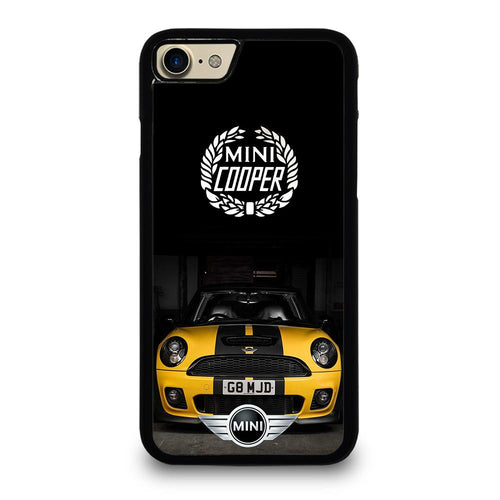 coque custodia cover fundas hoesjes iphone 11 pro max 5 6 7 8 plus x xs xr se2020 C26497 MINI COOPER CAR #1 iPhone 7 / 8 Case