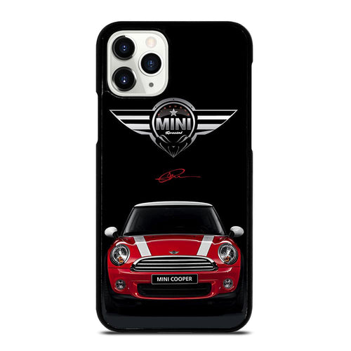 coque custodia cover fundas hoesjes iphone 11 pro max 5 6 7 8 plus x xs xr se2020 C26503 MINI COOPER CAR #2 iPhone 11 Pro Case