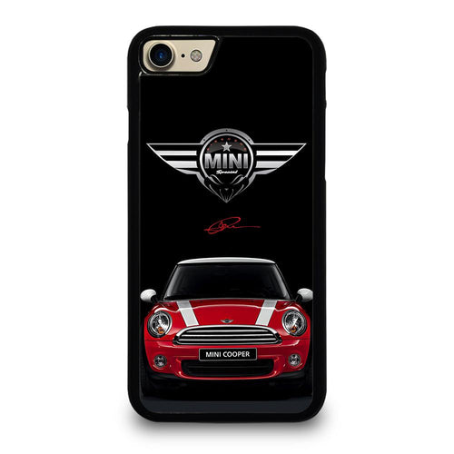 coque custodia cover fundas hoesjes iphone 11 pro max 5 6 7 8 plus x xs xr se2020 C26510 MINI COOPER CAR #2 iPhone 7 / 8 Case