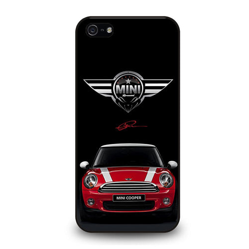 coque custodia cover fundas hoesjes iphone 11 pro max 5 6 7 8 plus x xs xr se2020 C26507 MINI COOPER CAR #2 iPhone 5/5S/SE Case