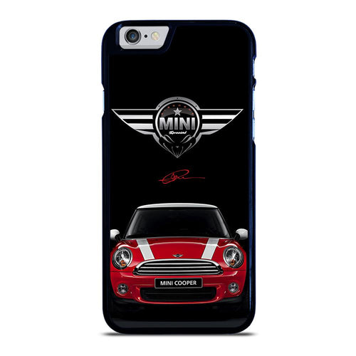 coque custodia cover fundas hoesjes iphone 11 pro max 5 6 7 8 plus x xs xr se2020 C26508 MINI COOPER CAR #2 iPhone 6 / 6S Case