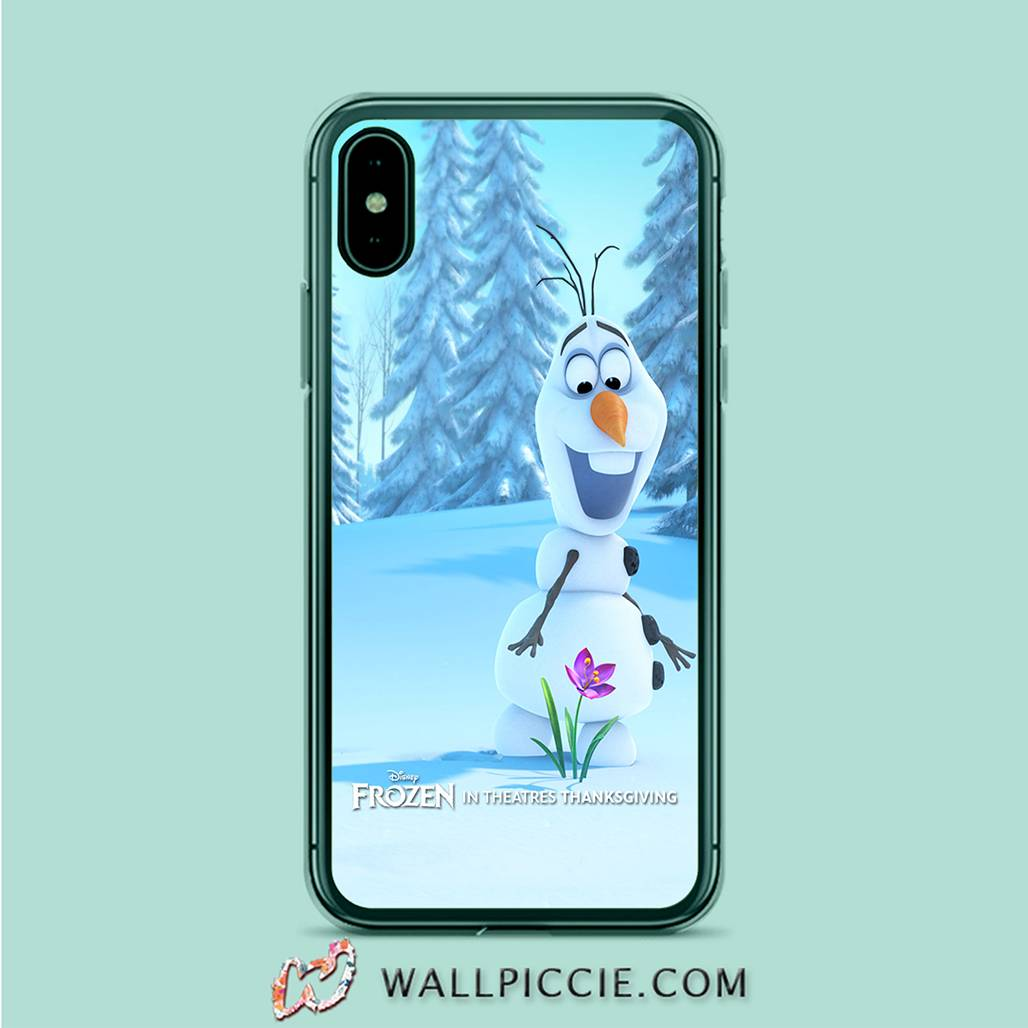 coque custodia cover case fundas hoesjes iphone 11 pro max 5 6 6s 7 8 plus x xs xr se2020 pas cher X9551 Olaf Frozen