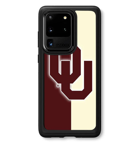coque custodia cover fundas hoesjes j3 J5 J6 s20 s10 s9 s8 s7 s6 s5 plus edge B30683 Oklahoma Sooners FF0034 Samsung Galaxy S20 Ultra Case