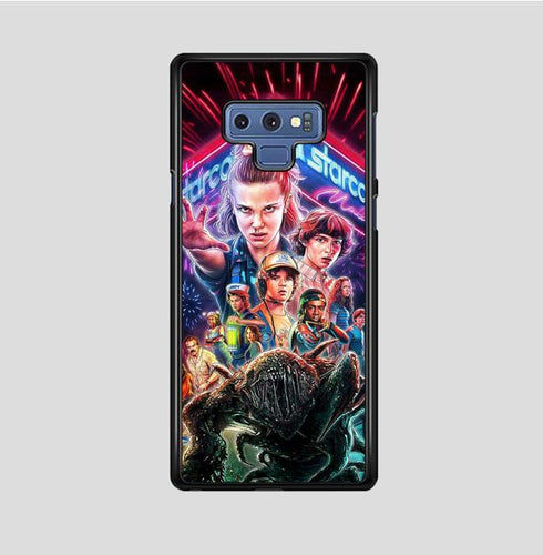 coque custodia cover fundas hoesjes j3 J5 J6 s20 s10 s9 s8 s7 s6 s5 plus edge B37023 Stranger Things FF0044 Samsung Galaxy Note 9 Case