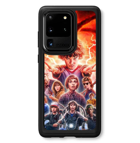 coque custodia cover fundas hoesjes j3 J5 J6 s20 s10 s9 s8 s7 s6 s5 plus edge B37051 Stranger Things FF0045 Samsung Galaxy S20 Ultra Case
