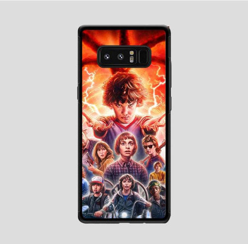 coque custodia cover fundas hoesjes j3 J5 J6 s20 s10 s9 s8 s7 s6 s5 plus edge B37045 Stranger Things FF0045 Samsung Galaxy Note 8 Case