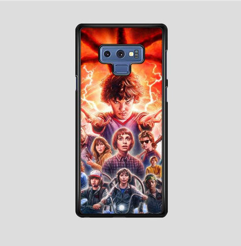coque custodia cover fundas hoesjes j3 J5 J6 s20 s10 s9 s8 s7 s6 s5 plus edge B37046 Stranger Things FF0045 Samsung Galaxy Note 9 Case
