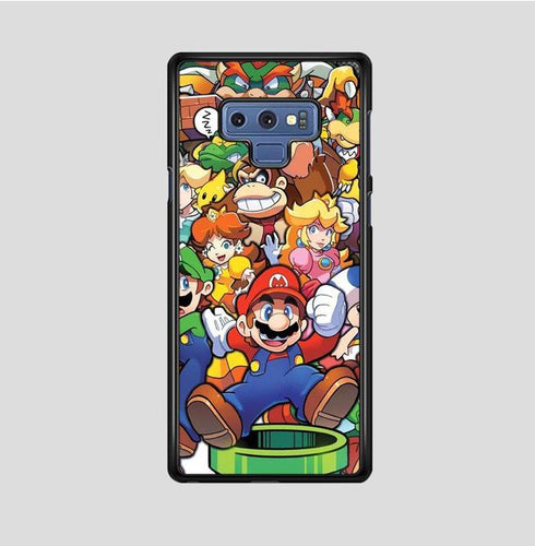 coque custodia cover fundas hoesjes j3 J5 J6 s20 s10 s9 s8 s7 s6 s5 plus edge B37221 Super Mario Party FF0083 Samsung Galaxy Note 9 Case