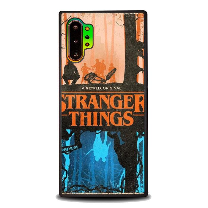 coque custodia cover fundas hoesjes j3 J5 J6 s20 s10 s9 s8 s7 s6 s5 plus edge B37062 Stranger Things FF0327 Samsung Galaxy Note 10 Plus Case