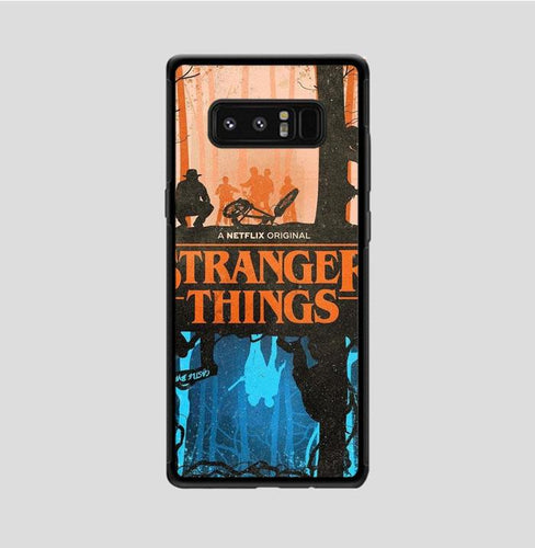 coque custodia cover fundas hoesjes j3 J5 J6 s20 s10 s9 s8 s7 s6 s5 plus edge B37071 Stranger Things FF0327a Samsung Galaxy Note 8 Case