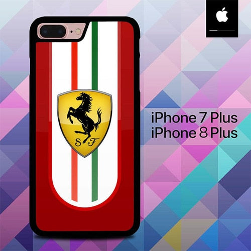 Ferrari SF O0609 hoesjes iPhone 7 Plus , iPhone 8 Plus