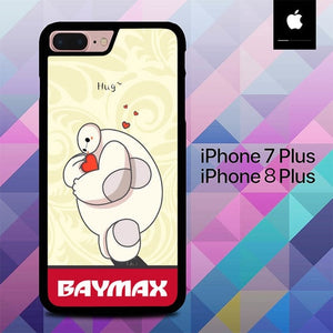 Baymax Save Hearth O0664 hoesjes iPhone 7 Plus , iPhone 8 Plus