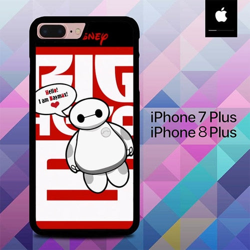 Baymax O0665 hoesjes iPhone 7 Plus , iPhone 8 Plus