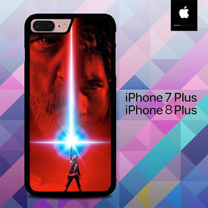 Star Wars The Last Jedi O0702 hoesjes iPhone 7 Plus , iPhone 8 Plus