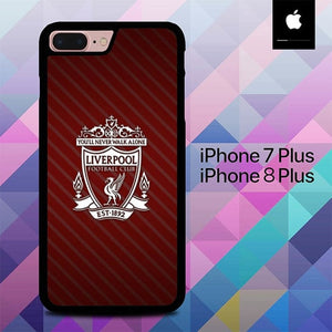 Liverpool Grid Line O0723 hoesjes iPhone 7 Plus , iPhone 8 Plus