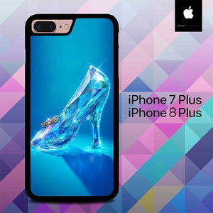Glasses Shoes Cinderella O0731 hoesjes iPhone 7 Plus , iPhone 8 Plus